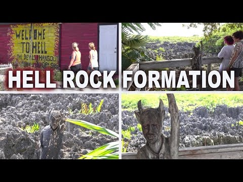 HELL ROCK FORMATION - GRAND CAYMAN 4K 2017