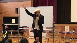 岡田尚起トークライブ in 三重県水沢小学校 142周年記念 公開収録