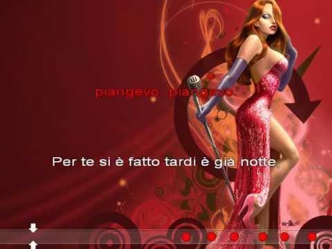 karaoke Il cuore è uno zingaro   Giuliano Palma