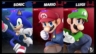Super Smash Bros Ultimate Amiibo Fights Request 237 Sonic Vs Mario Bros Youtube