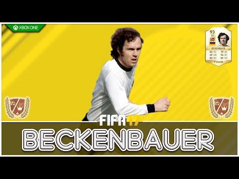 FIFA 17 | Legend Review | Franz Beckenbauer !