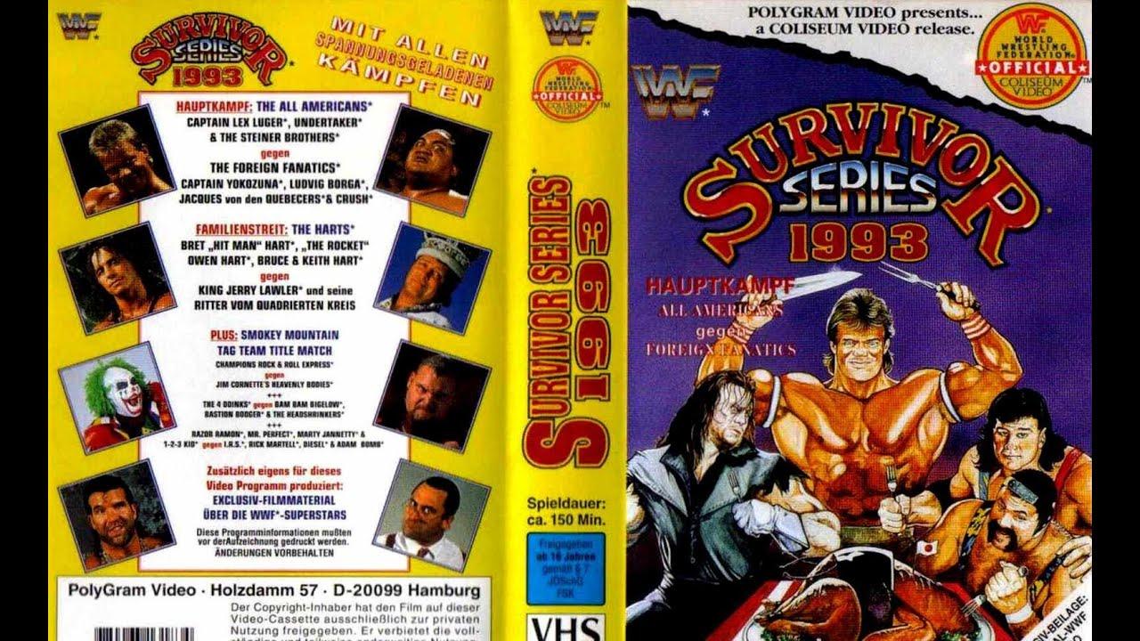Kết quả hình ảnh cho WWE Survivor Series 1993