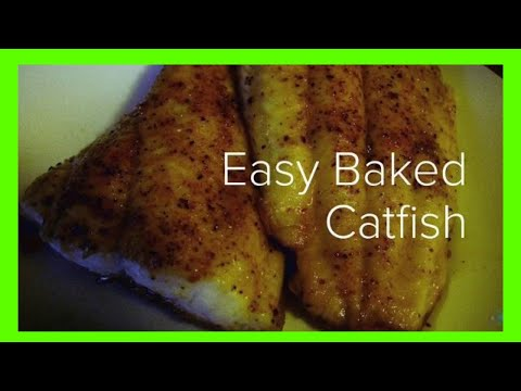 How To Cook Baked Catfish (Simple And Gooooood!!!)