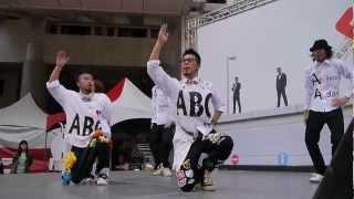 自由發揮 ABC+3D舞力全失 跨出界 Live