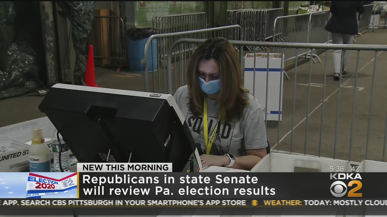 Republican In Pennsylvania To Review Election Results