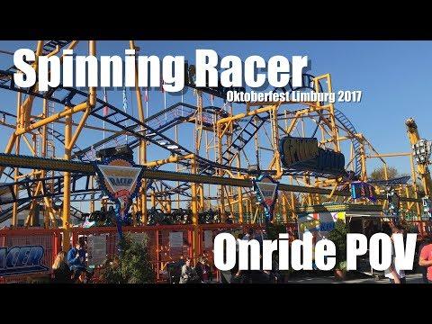 Spinning Racer | Oktoberfest Limburg | Bruch | Onride POV