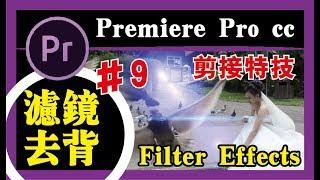 PR教程 #09【滤镜/去背 】Filter effects/影片製作/編輯/剪接/小秘诀