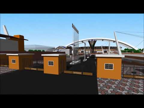 Final thesis animation of regional sports complex