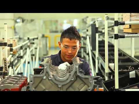 Chrysler de México Planta Motores Saltillo Norte y sus valores