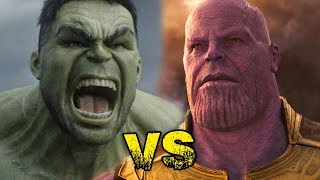 Thanos vs Hulk. Batalla de Rap Marvel