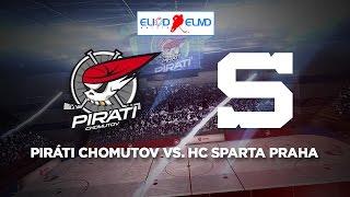 17. kolo ELIOD Extraliga mladšího dorostu: Piráti Chomutov - HC Sparta Praha