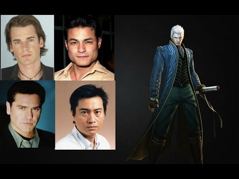 Video Game Voice Comparison- Vergil (Devil May Cry) - YouTube