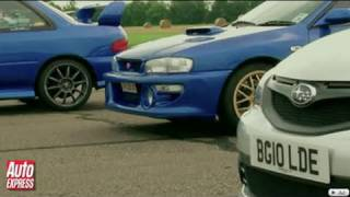 Subaru Cosworth Impreza STI CS400 Videos