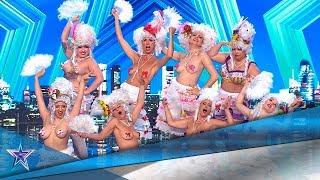 ¡SEXY! Estas CHICAS hacen un STRIPTEASE para SORPRENDER | Audiciones 3 | Got Talent España 5 (2019)