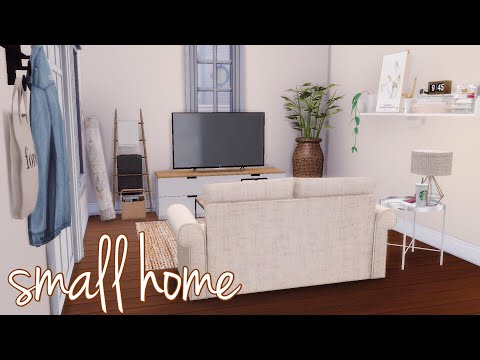 SMALL HOME + CC LINKS || THE SIMS 4