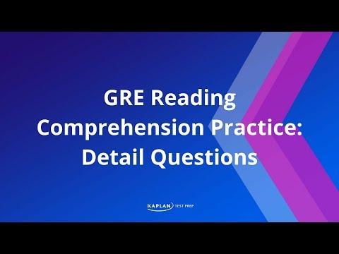 GRE Reading-Comprehension Practice Questions (Verbal Reasoning)