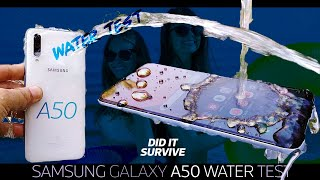 Samsung Galaxy A50 Waterproof Test🌡️🧜🏻‍♀️ - ALMOST VERY GOOD👌🏼
