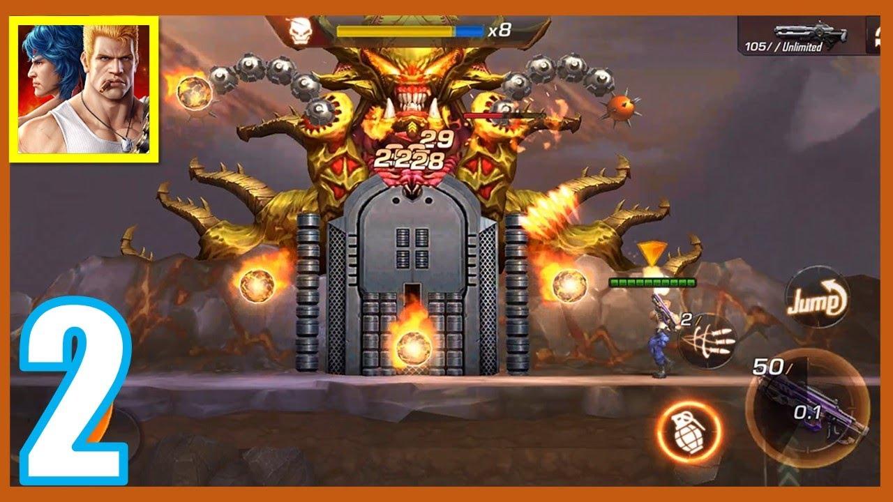 Contra Returns 2021 | PRIMER BOSS | Modo Historia | Android gameplay #2