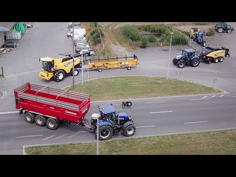 Top Départ Moisson 2019 chez Blanchard Agriculture !