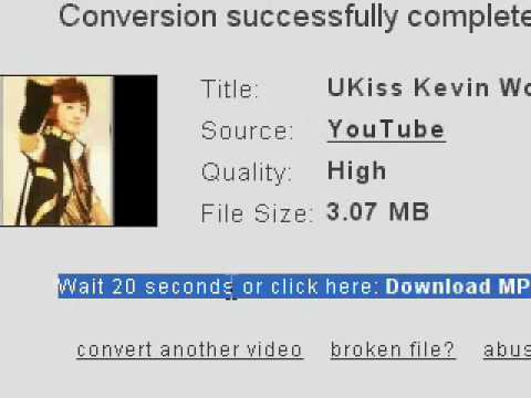 How to convert a video to mp3