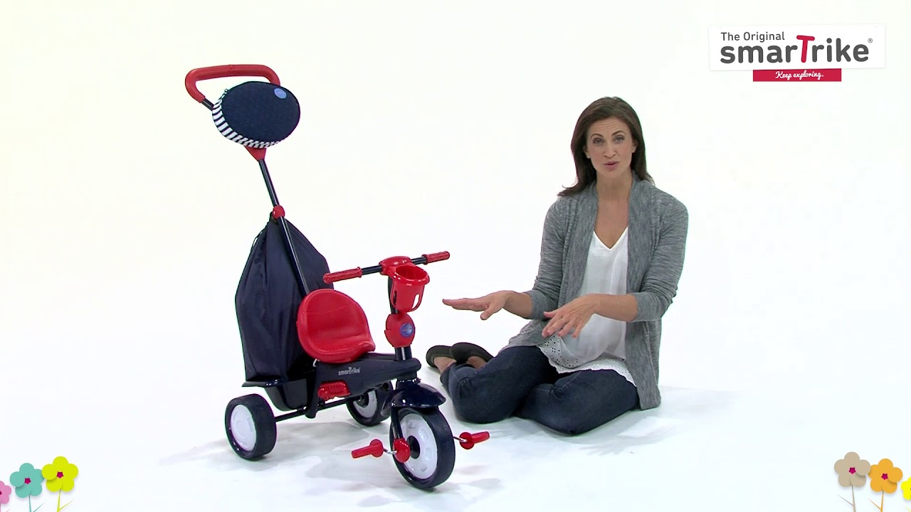 0c4cf73c6ab smarTrike® 4 in 1 Baby Tricycle - Star - YouTube