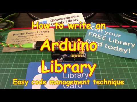 #71 How To Create An Arduino Library - Easy!