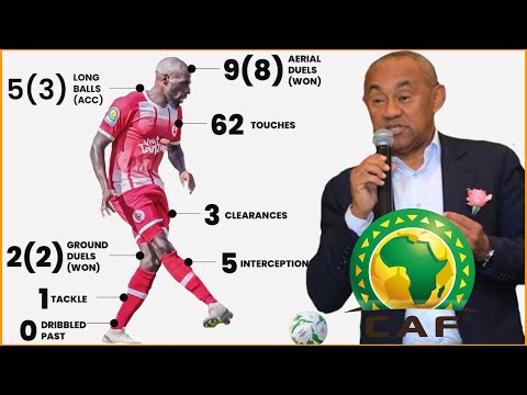 Shirikisho la Mpira Africa CAF lamtaja Joash Onyango kuwa beki bora Africa
