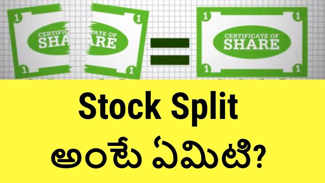 What Is A Stock Split Why Do Stock Split Stock Market Basics For