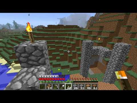 Minecraft Greek Multiplayer Survival Επεισόδιο 10:Η στραβή γέφυρα.
