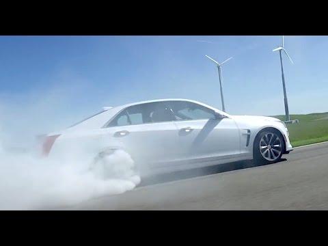 Cadillac CTS-V -- TEST/DRIVE