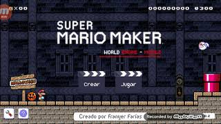 SUPER MARIO MAKER WORLD ENGINE/(SMMWE) MAÑANA HAY DIRECTO :D