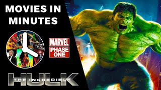 Video The Incredible Hulk in 4 minutes - (Marvel Phase One Recap) download MP3, 3GP, MP4, WEBM, AVI, FLV Agustus 2018