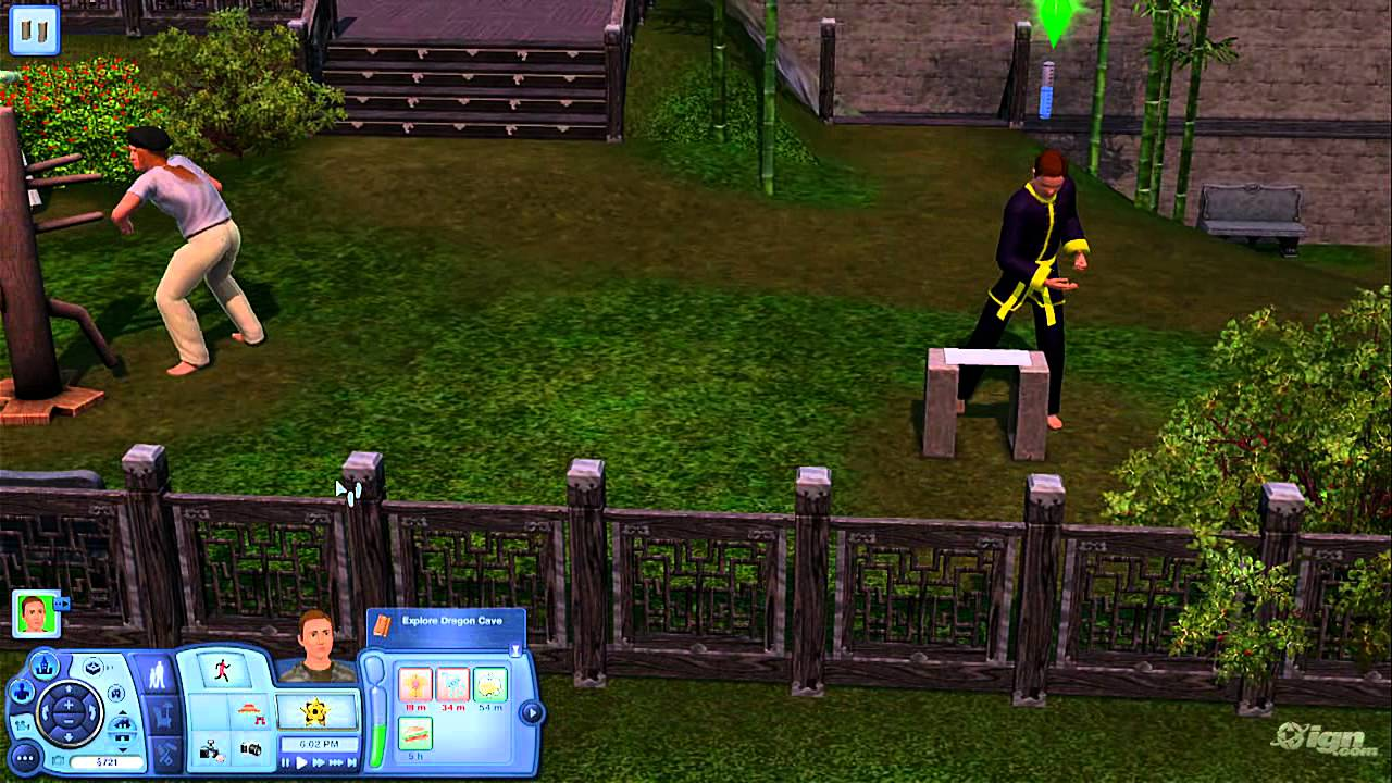 the sims 3 world adventures pc games gameplay at the youtube