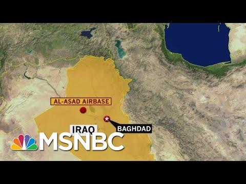 Rocket Attack On Iraqi Base Housing US Troops   Hardball   MSNBC
