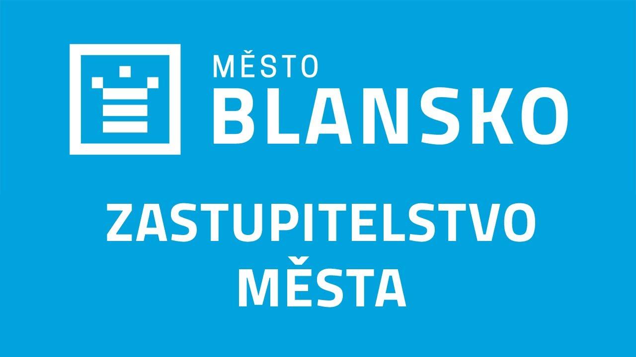 Zastupitelstvo města Blansko 21.09.2021