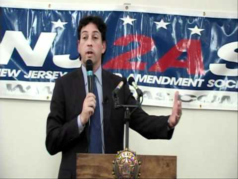 Alan Gura addresses the New Jersey Second Amendment Society - I