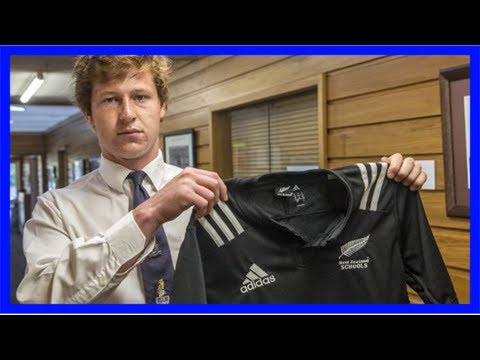 Cullen grace donates nz school's rugby jersey to timaru boys' high