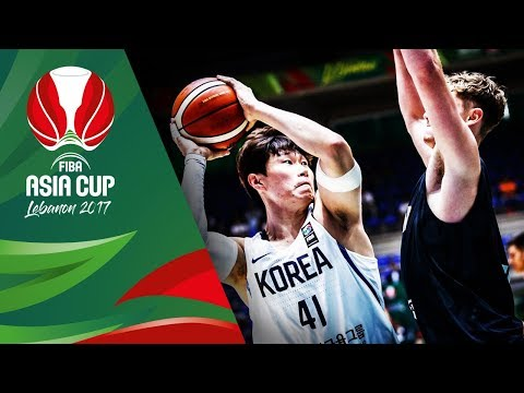 HIGHLIGHTS: Korea vs. New Zealand (VIDEO) FIBA Asia Cup 2017 | August 12