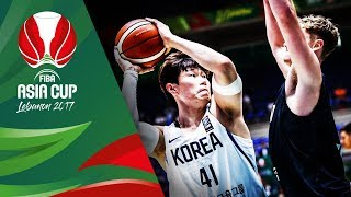 Korea v New Zealand - Highlights - FIBA Asia Cup 2017