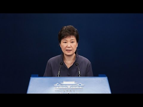South Korea's President Park Is Removed From Power