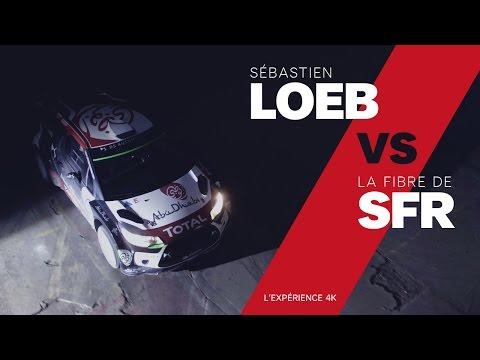 Sebastien Loeb VS La fibre de SFR