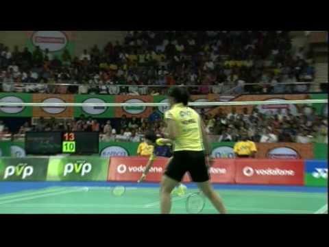 Saina Nehwal Vs Ying Tai Tzu | Women's Singles | Hyderabad Hotshots Vs Banga Beats 2013