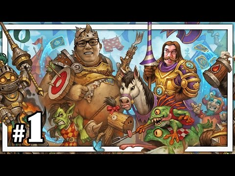 Hearthstone: TGT Showdown - Trump vs Amaz - Part 1