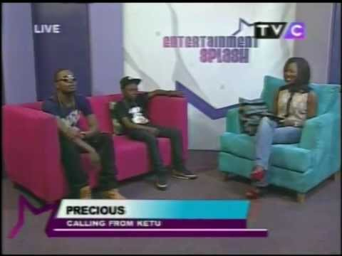 Olamide & Lil P Live in the Studio on Entertainment Splash (Official)