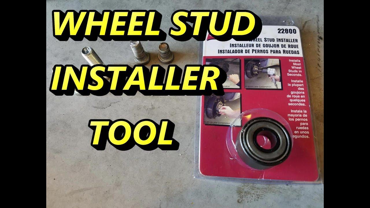 Lisle 22800 Wheel Stud Installer