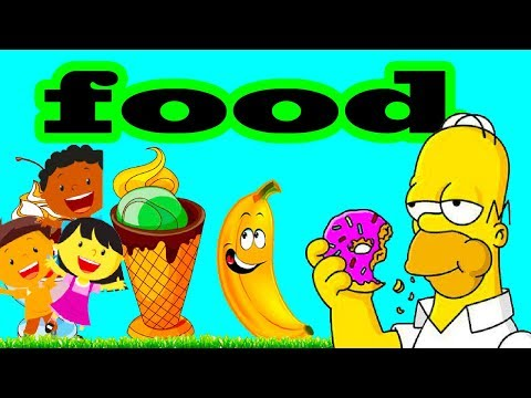 Let's  Learn The Foods SL Kids TV