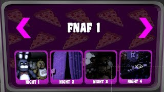 Trying to beat all FNaF 1 Nights and fixing bugs (FNaF Help Wanted Android (Fanmade))