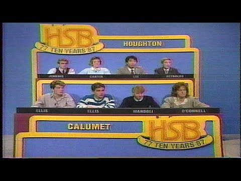 High School Bowl 1987 - Calumet vs Houghton