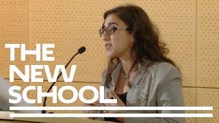 "New School Minute: Katayoun Chamany - ""Immortality & Immorality: Stem Cells & Social Justice"""