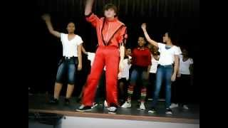 Thriller dance at ocoee middle school